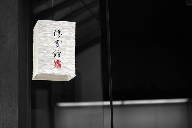 papírový lampion