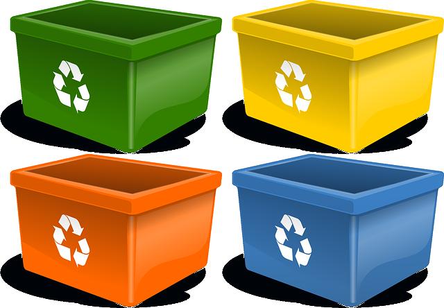 recyklační kontejnery