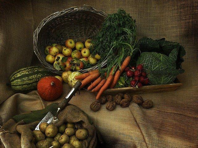 zelenina s ořechy