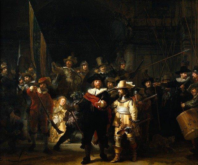 obraz Rembrandt