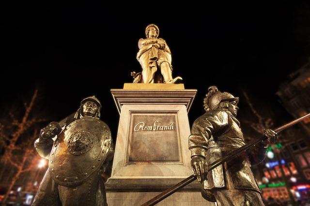 socha Rembrandta