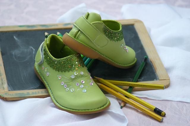 zelené botičky