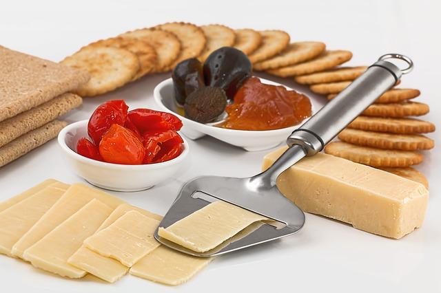 občerstvení se sýrem