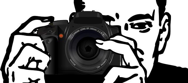 muž fotograf