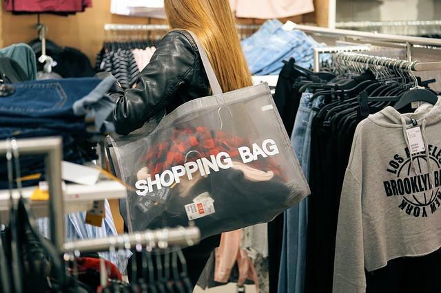 nákup v obchodě