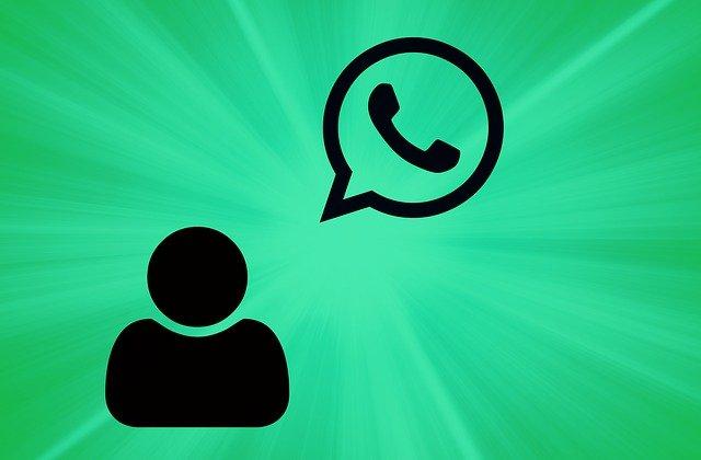 komunikace přes whatsApp