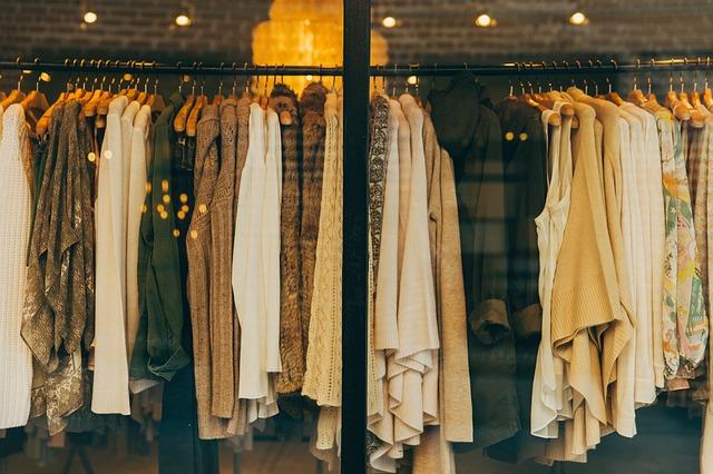 butik s oblečením