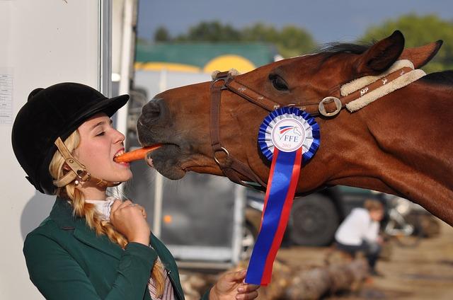 žokejka u koně