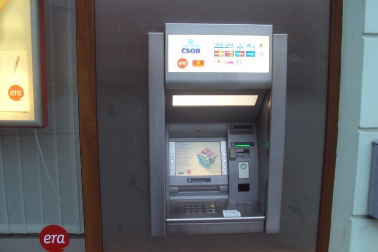 Bankomat už vaši kartu neodmítne