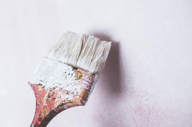 štětec od malířské barvy