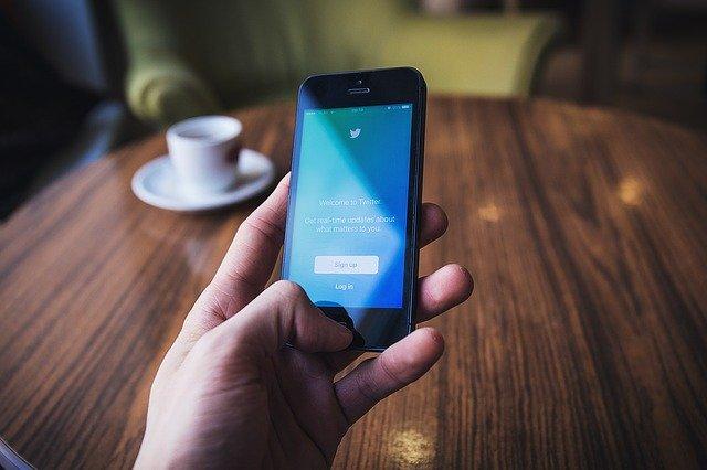 modrá obrazovka mobilu