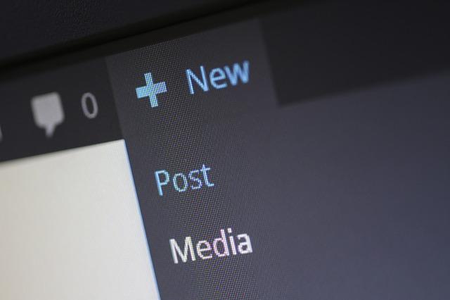 detail přidávání nového obsahu na blog či sociální sítě